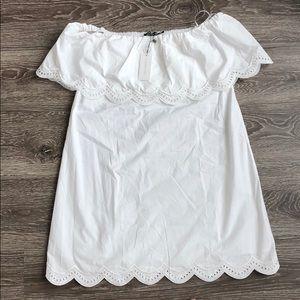 Tuckernuck White off the shoulder dress